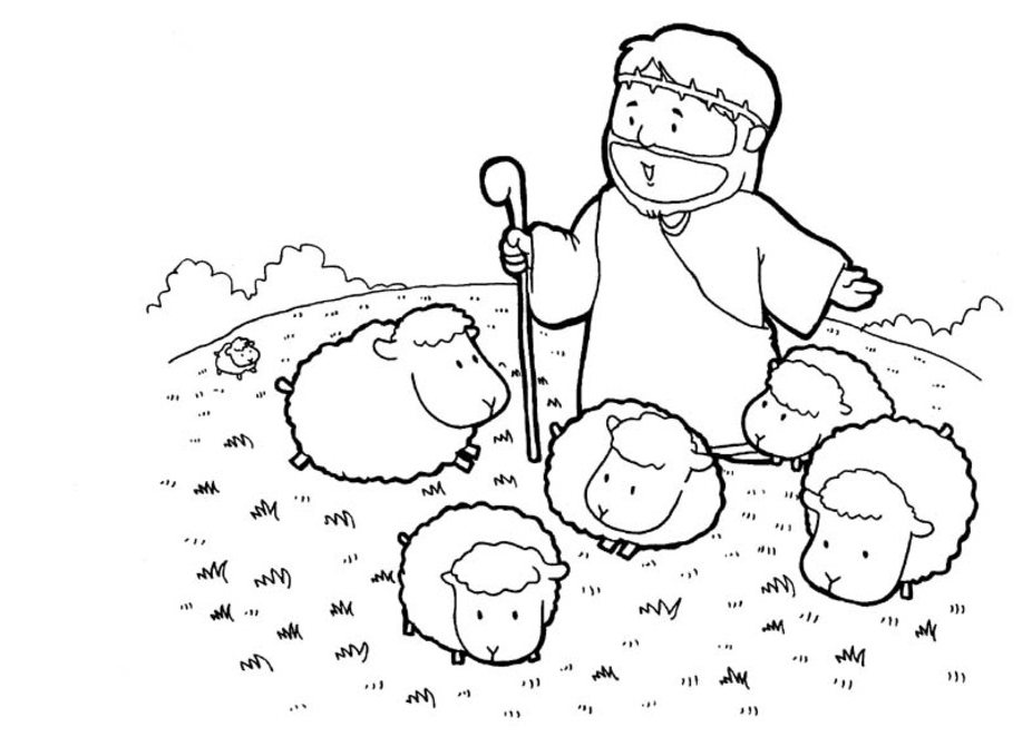 child bible story coloring pages - photo#4