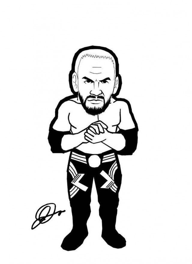 Rey Mysterio Coloring Pages Quoteko 176554 Wwe Wrestlers Coloring