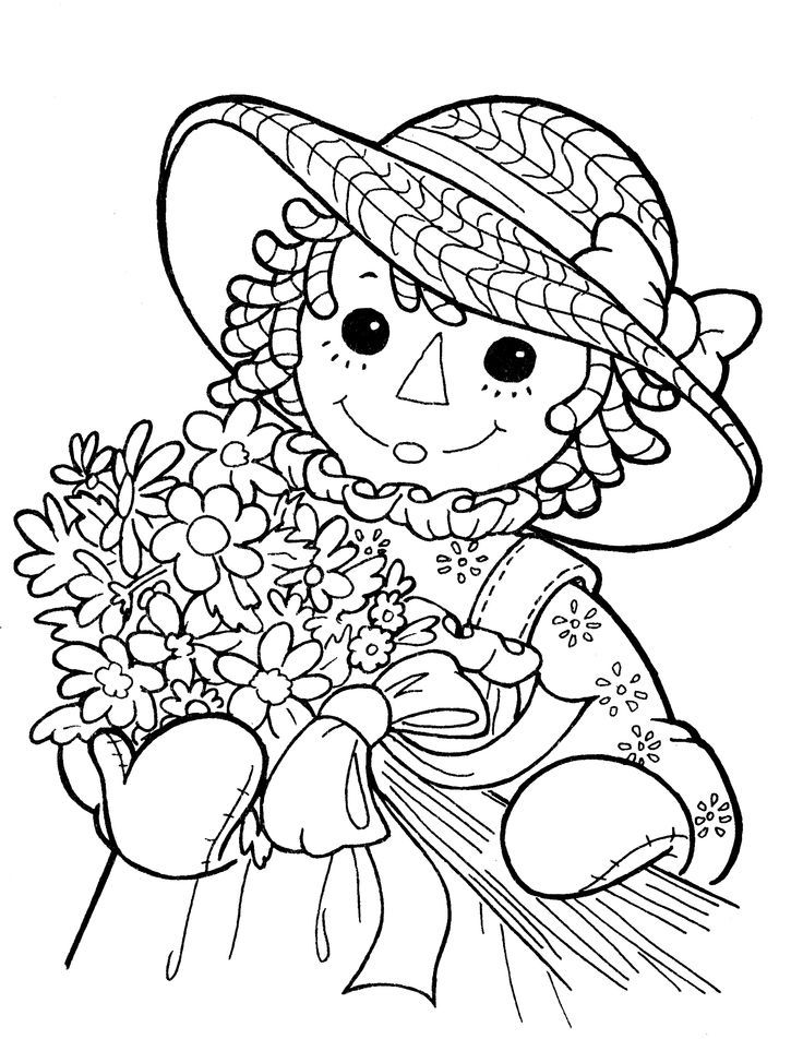 raggedy ann and andy coloring pages raggedy anne and andy coloring home