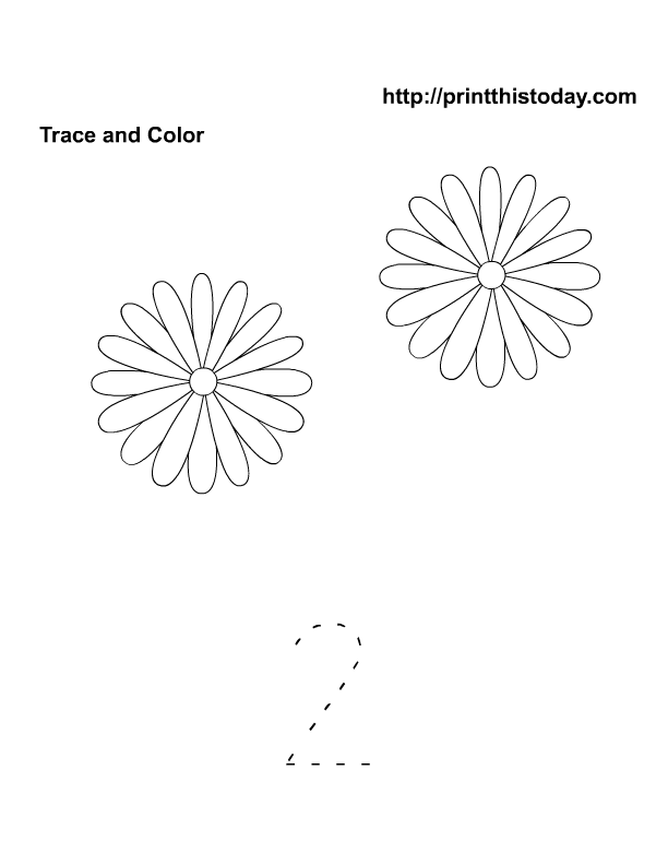 Free Printable Spring Flowers Math Worksheets For