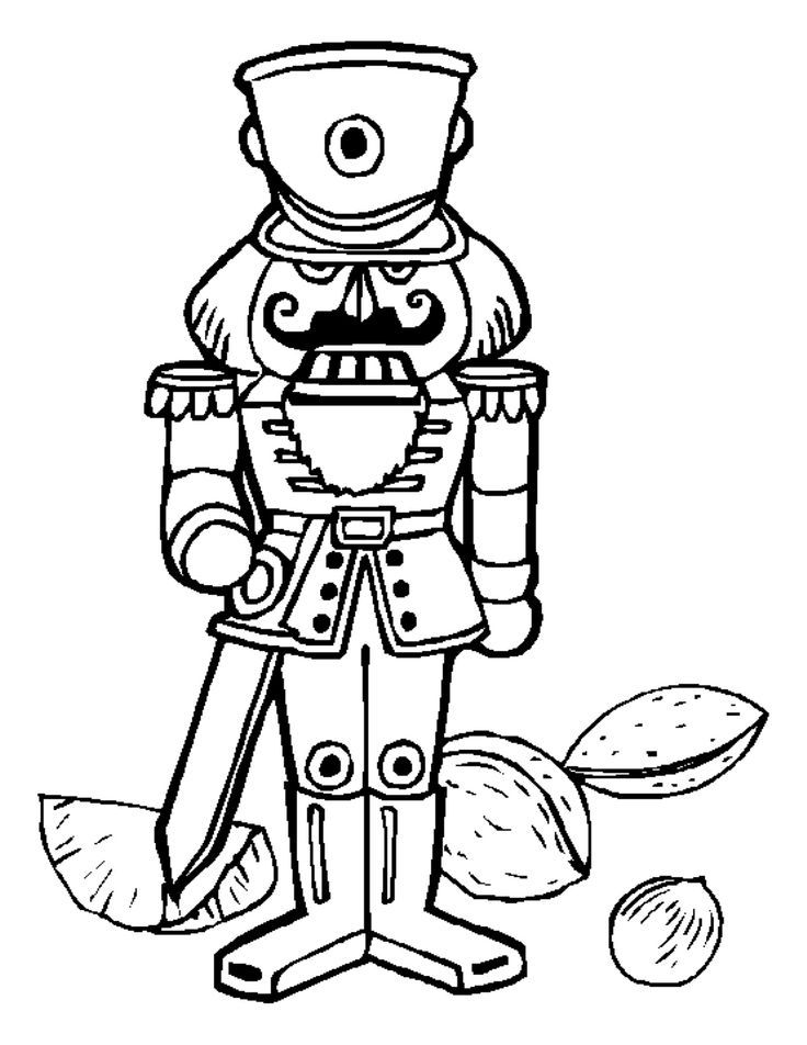Top 20 Free Printable Nutcracker Coloring Pages Online | 952x736