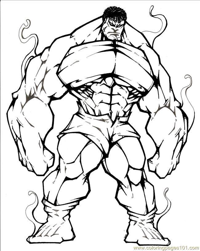 coloring pages fantastic four - photo#35