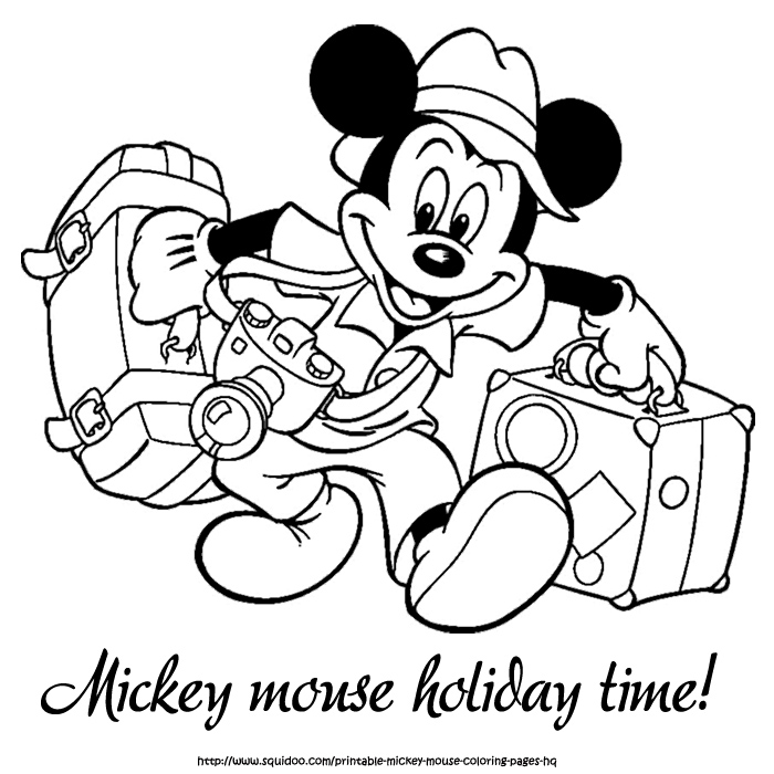 Mickey mouse pictures for kids az coloring pages for Mickey mouse coloring pages christmas