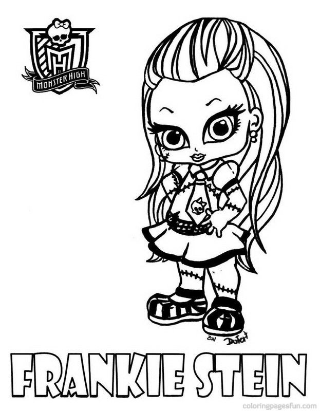 Monster High Coloring Pages - AZ Coloring Pages
