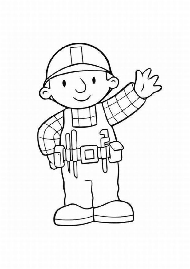 bob the builder coloring pages to print | Coloring Pages For Kids