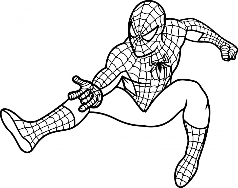 lego spiderman coloring pages - photo #14