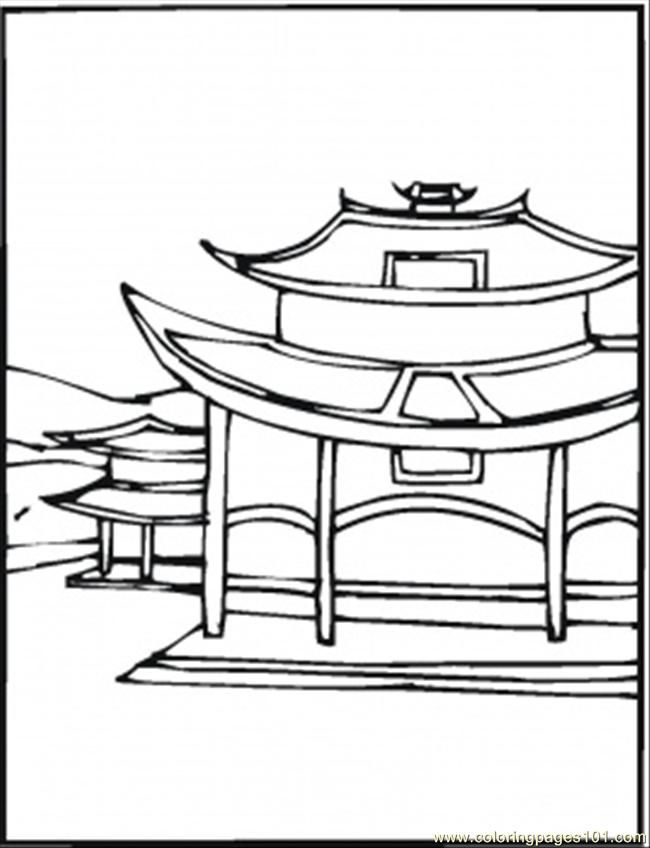 China Coloring Pages Coloring Home