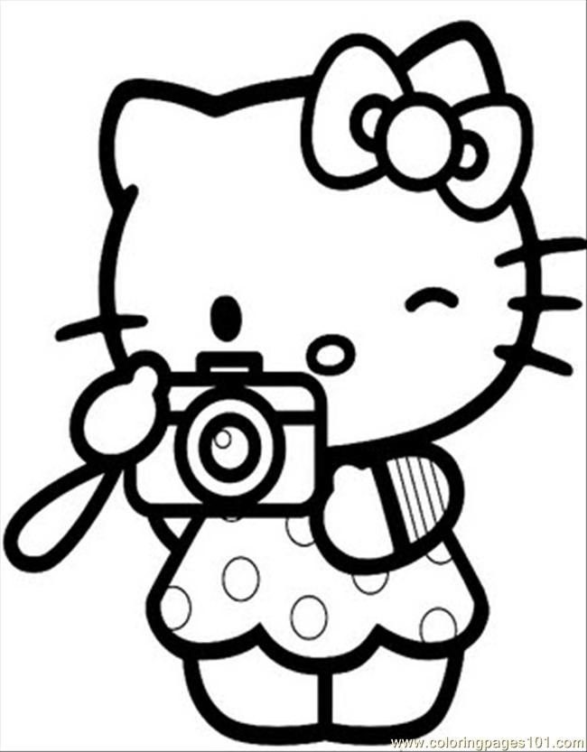 Coloring Pages Hellokitty5 (Cartoons > Hello Kitty) - free