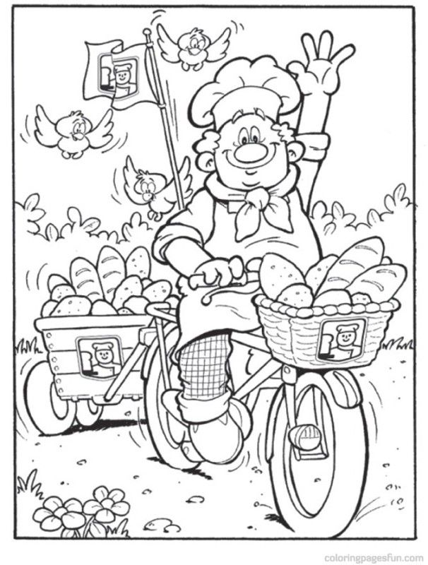 bakery coloring pages 18 free printable coloring pages az coloring pages Bakery Coloring Pages for Adults  Coloring Pages Bakery