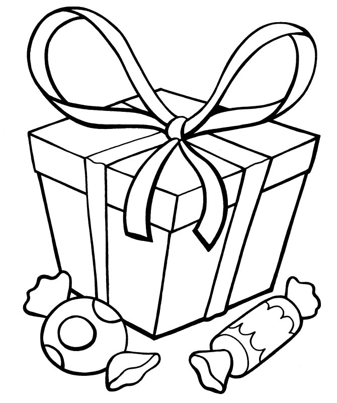 Present Coloring Sheet Az Coloring Pages Present Printable Coloring Pages
