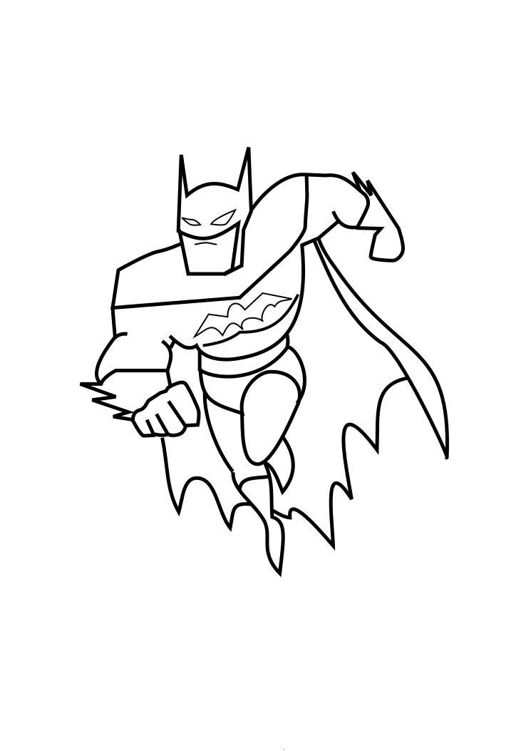 Batman Drawings For Kids Coloring Home Batman Coloring Pages Koloringpages