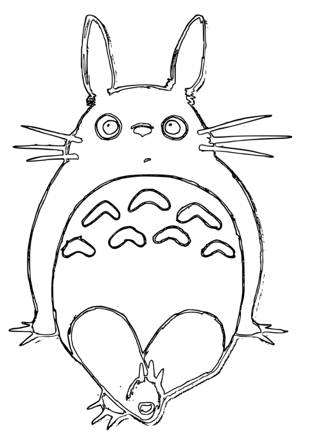 pin totoro 1 by dottypurrs on pinterest 281527 my neighbor totoro phoenix wright coloring page