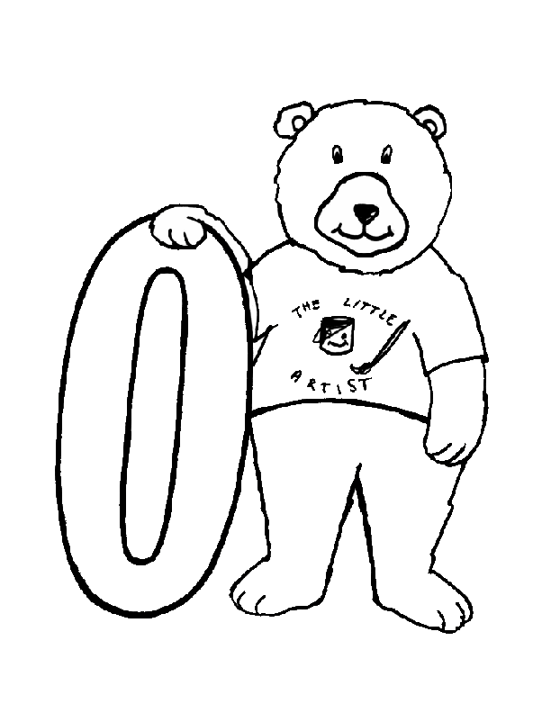 0 numbers coloring pages for kids, printable free digits coloring ... | 792x612