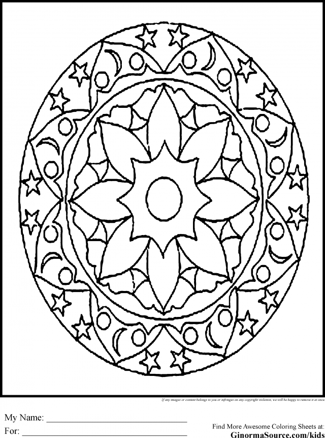 kids coloring pages intricate designs - photo#13