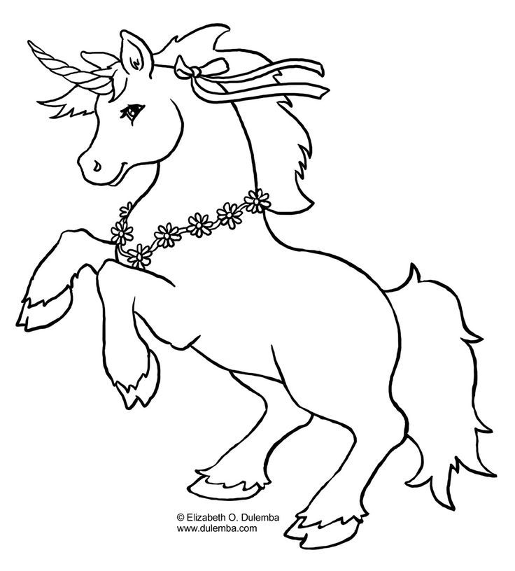 rainbow and unicorn coloring pages - photo#27