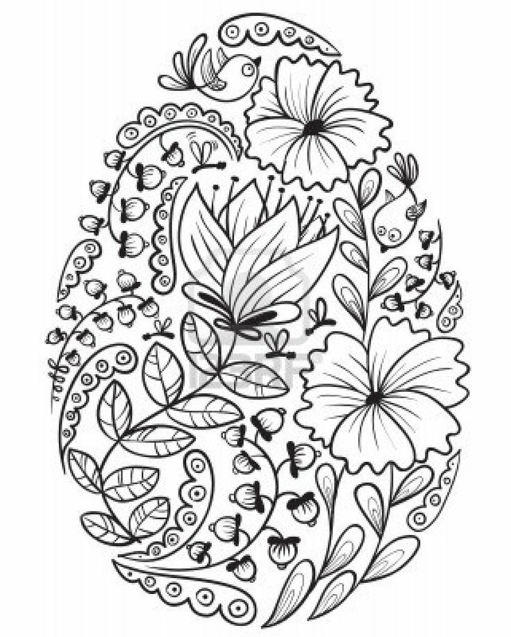 Free Easter Mandala Coloring Pages