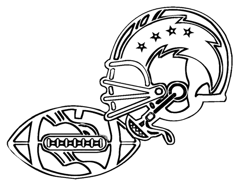 football coloring pages eagles hotel - photo#3