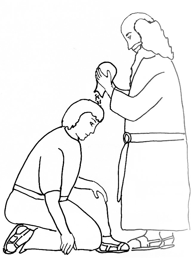 David king bible coloring coloring pages for King david coloring pages free