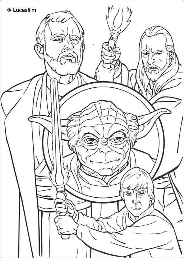 Star Wars The Clone Wars Coloring