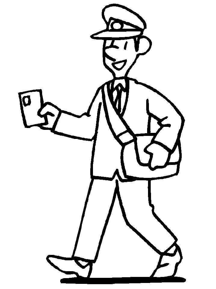 coloring pages community helper - photo#5