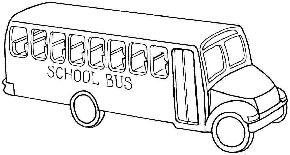 Pictures Of Buses To Colour Az Coloring Pages Sketch