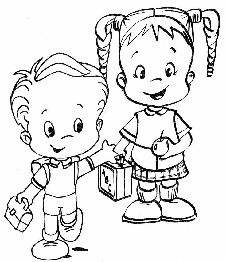 school coloring pages for kindergarten - photo#23