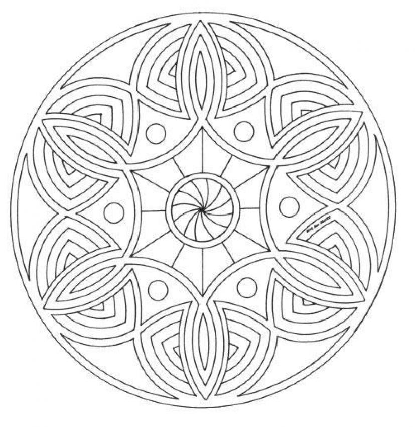 Mandala pictures | coloring pages for kids, coloring pages for