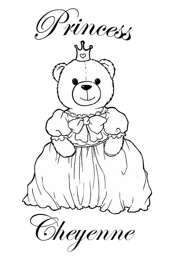 buildabear coloring pages - photo#5