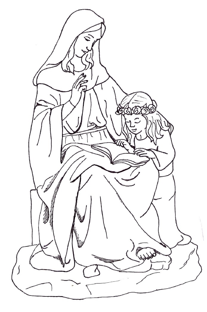 roman catholic coloring pages - photo#20