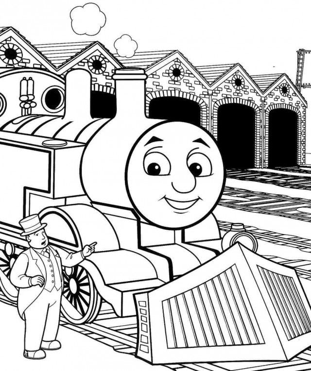 Thomas The Tank Engine Printables Az Coloring Pages The Engine Coloring Pages