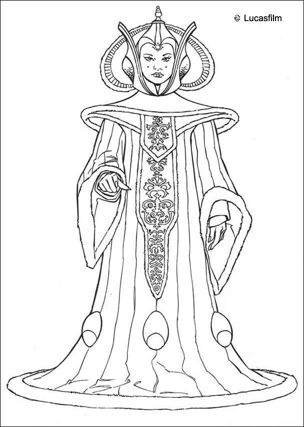 star wars leia coloring pages - photo#22