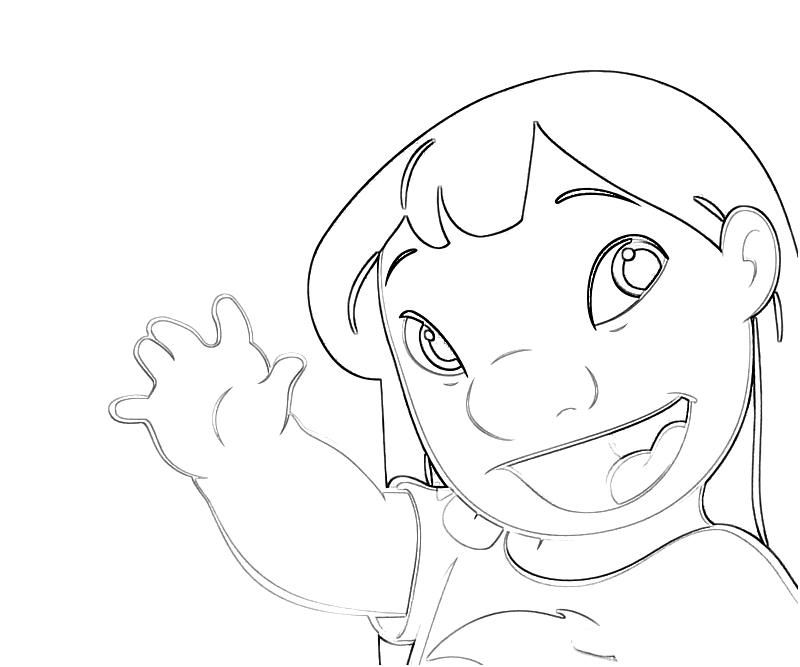stitch the movie coloring pages - photo#8