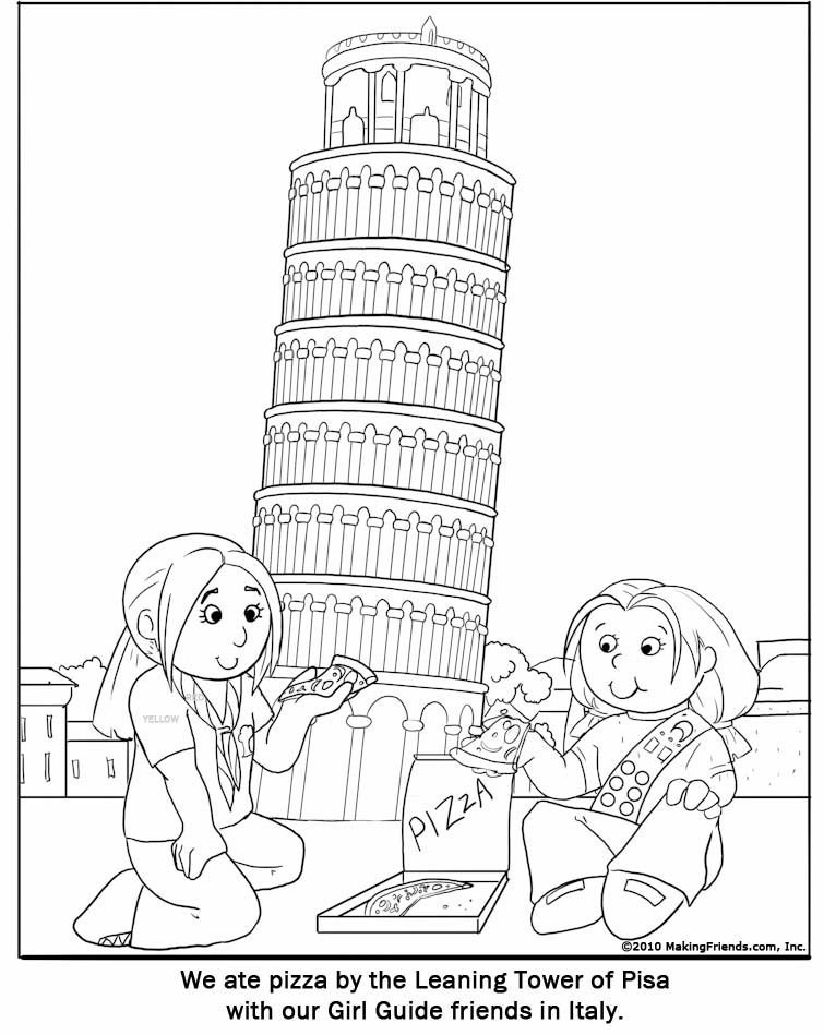 italy coloring pages - photo#7