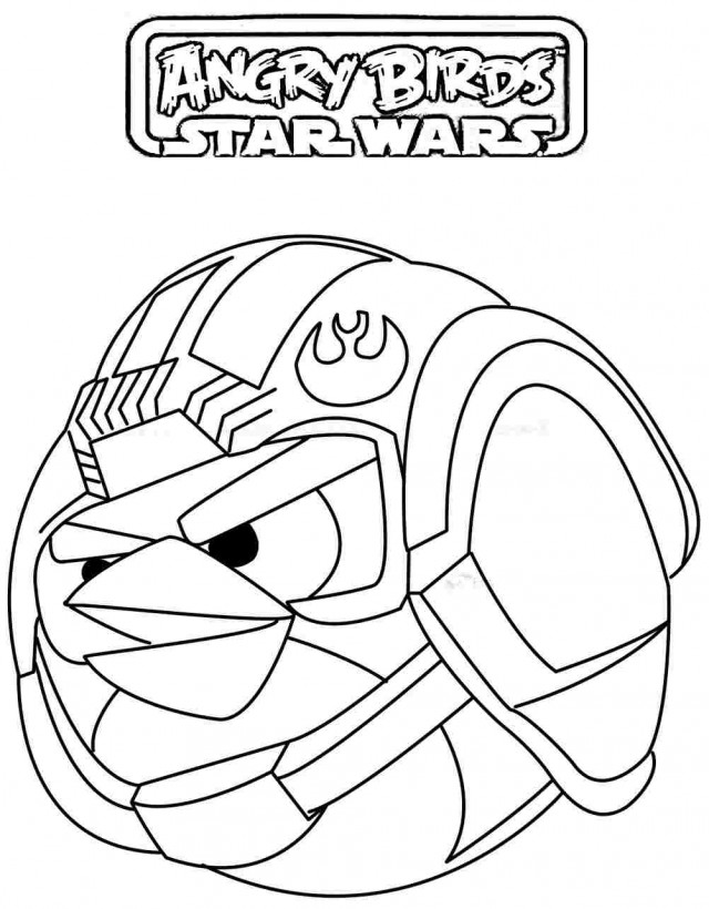 Angry Birds Star Wars Coloring Sheets Az Coloring Pages Angry Birds Wars Coloring Pages Printable