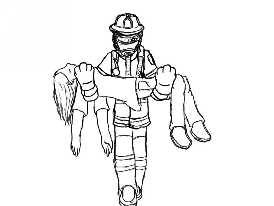 Firefighter Coloring Pages Coloring Home