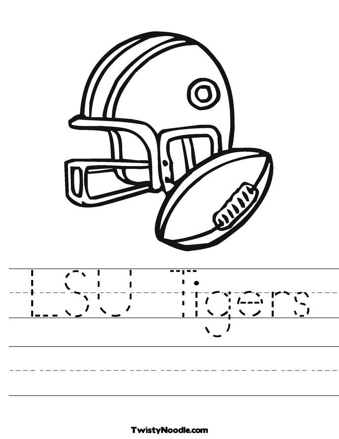 Lsu Coloring Pages - Coloring Home
