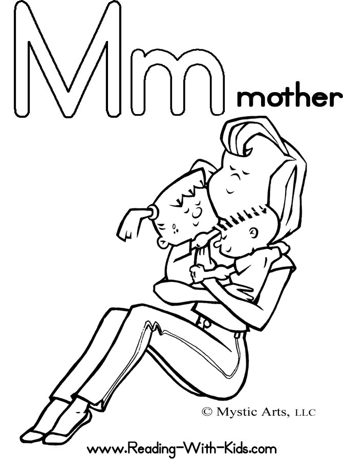 mom happy birthday coloring pages - photo#33