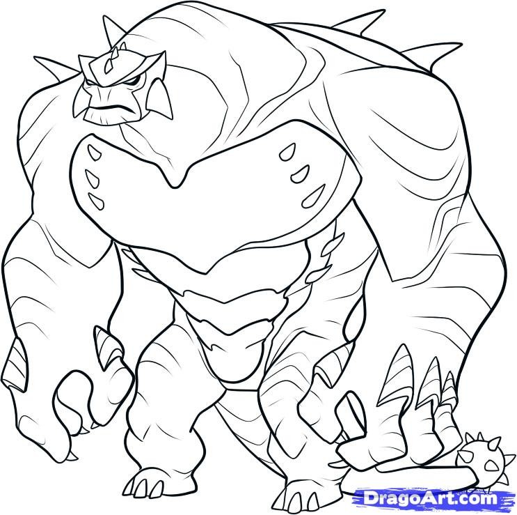 Ben 10 ultimate alien coloring pages az coloring pages for Coloring pages of ben 10 aliens