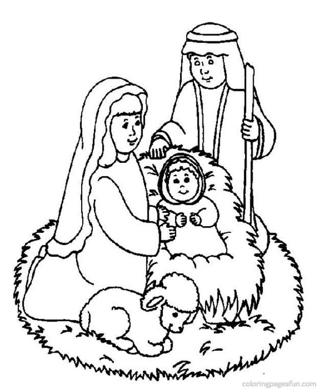 Bible story coloring page coloring home for Bible story coloring pages printable