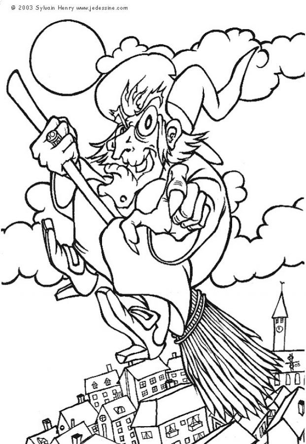 Enchanted Coloring Pages - Coloring Home