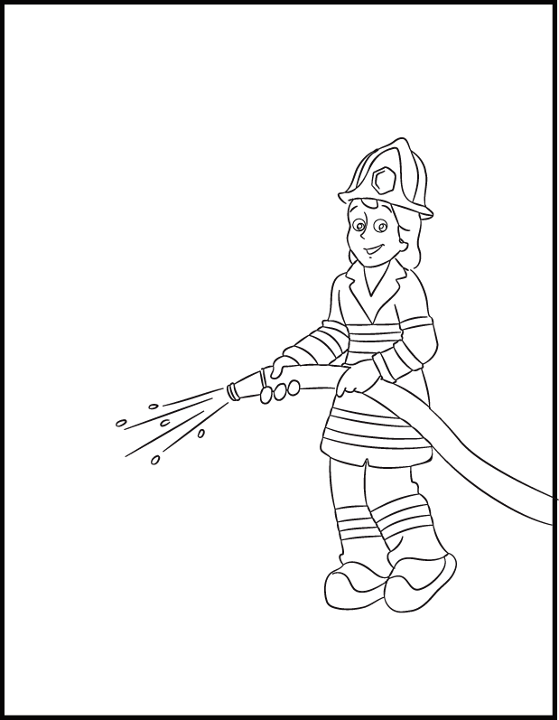 paramedics coloring pages for kids - photo#31