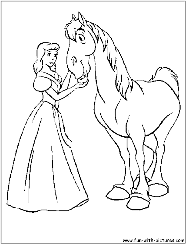 Cinderella Disney Coloring Pages | Top Coloring Pages