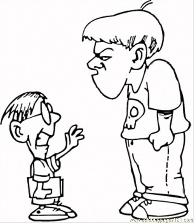 Anti Bullying Coloring Pages Az Coloring Pages Anti Bullying Colouring Pages