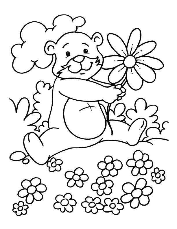 Seasons Coloring Pages on Easter Worksheets Kindergarten Sign