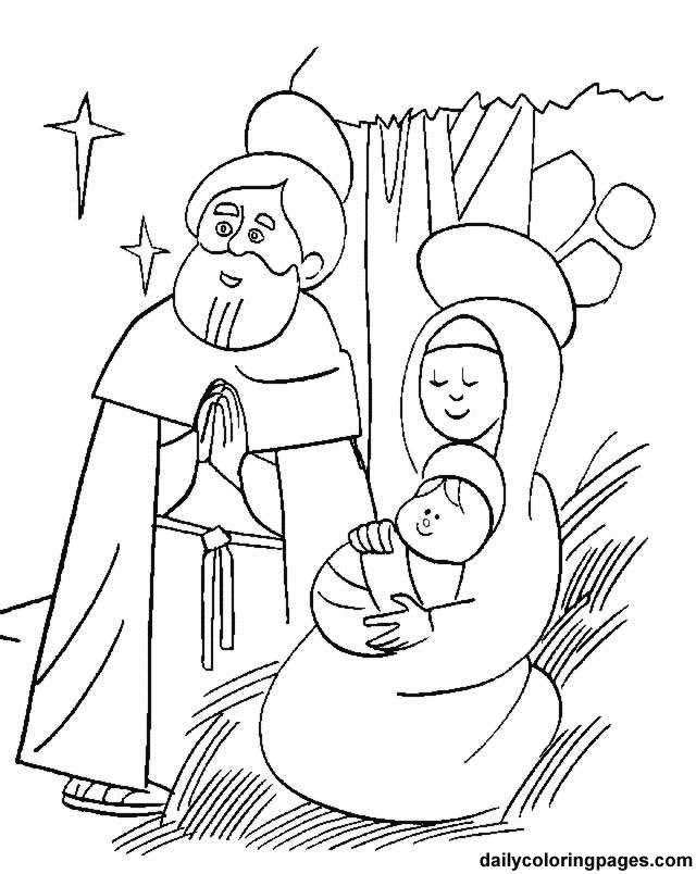 Free Printable Religious Worksheets and Coloring Pages