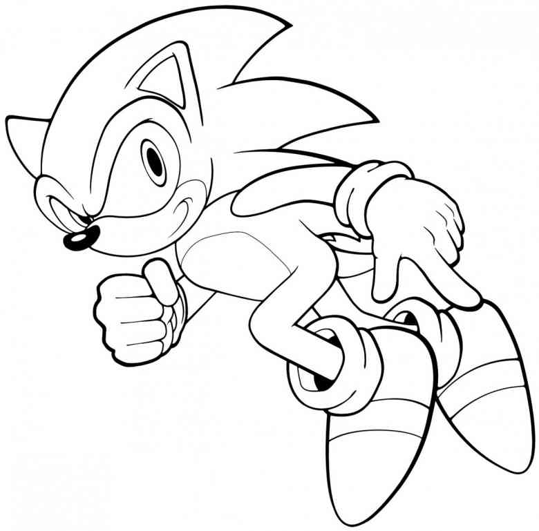 Free Printable Sonic Coloring Pages For Kids | Coloring Pages