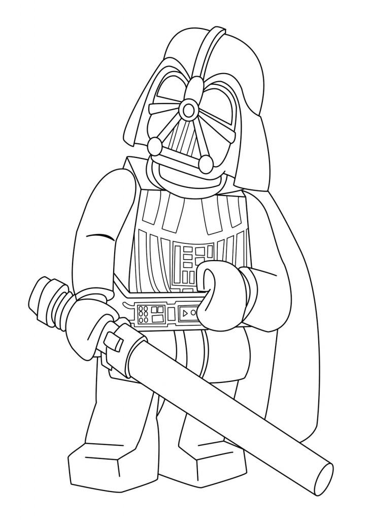 Lego Star Wars Printable Lego Star Wars R2d2 Coloring Pages