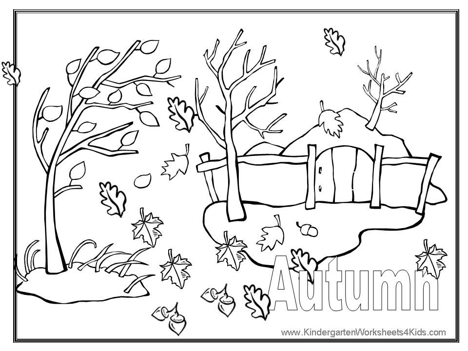 printable fall coloring pages - photo#10