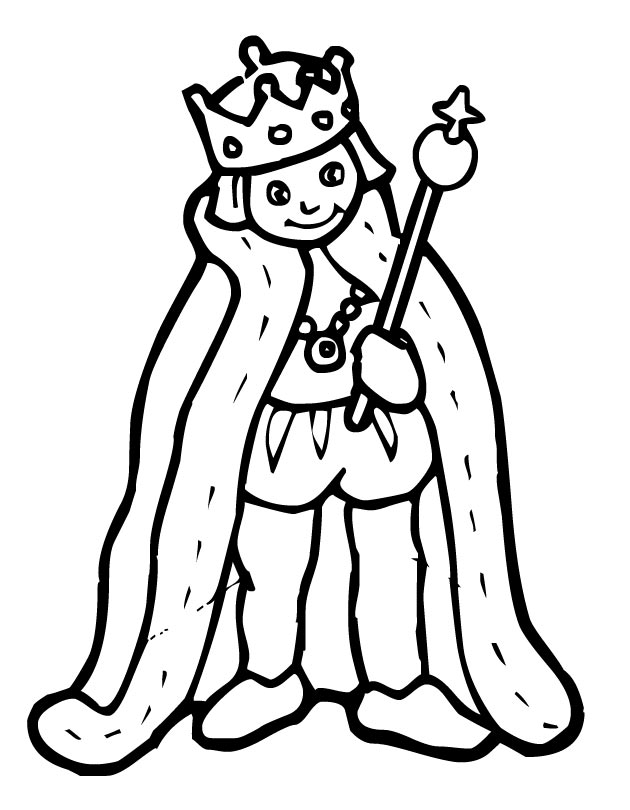 Printable King Coloring Page From Freshcoloring King Coloring Pages