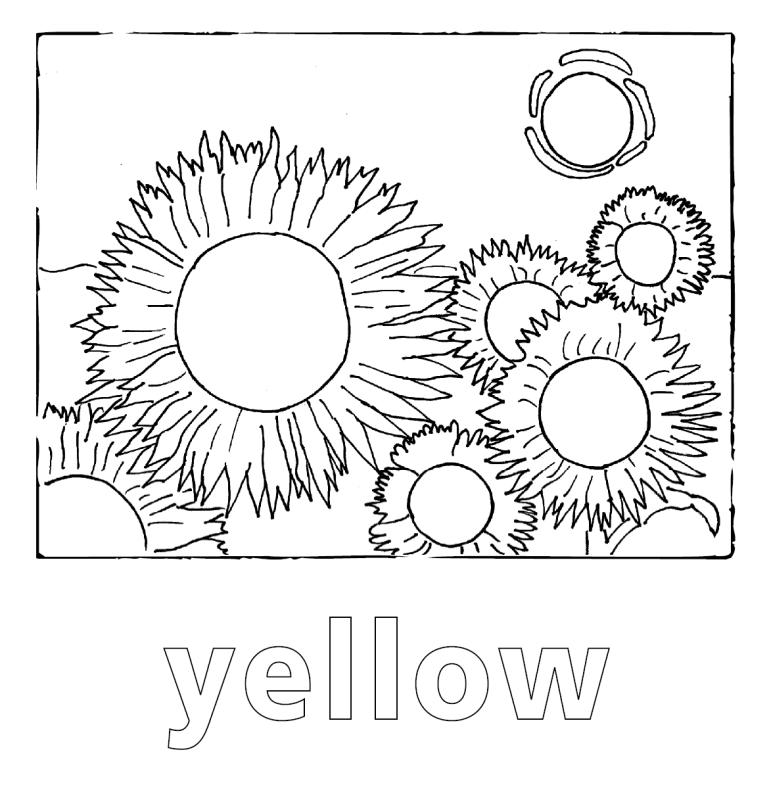 Vincent Van Gogh Coloring Pages - Coloring Home